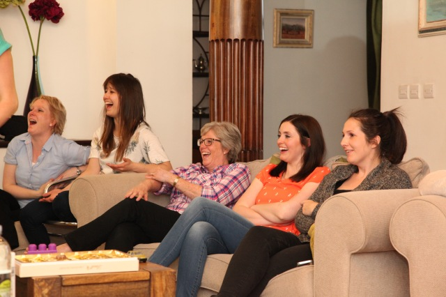 Laughter at Ladies' Night