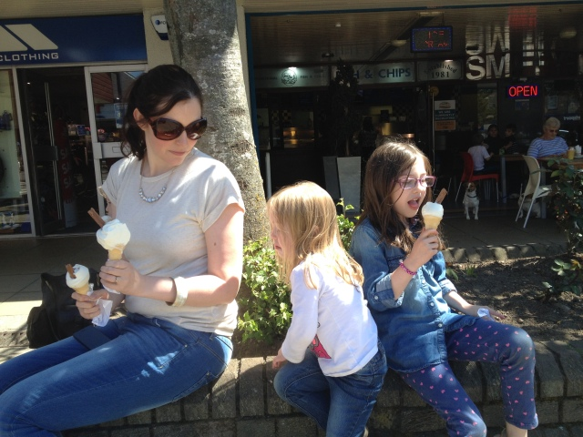 Ice creams at Aviemore