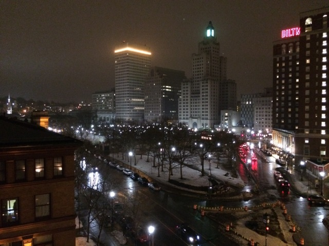 View of Providence from the hotel