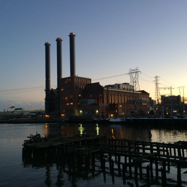 Power station on the water, Providence