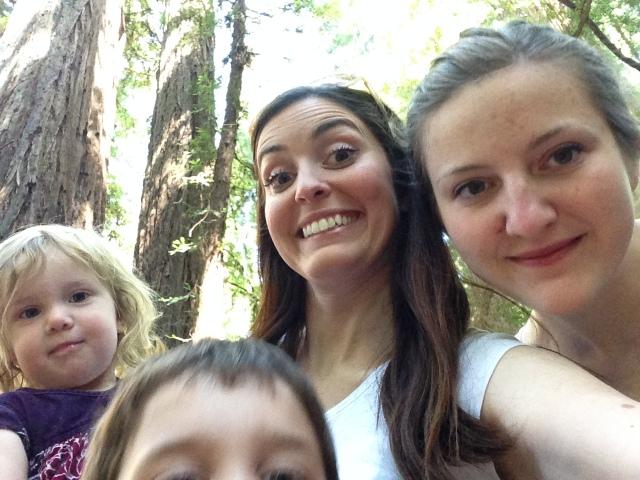 Redwoods selfie