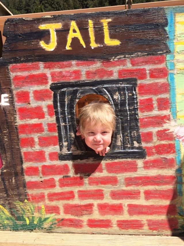 Olive in jail